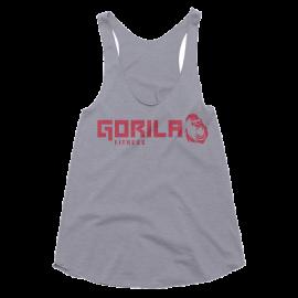 GORILA FITNESS WOMEN'S TANK - GREY